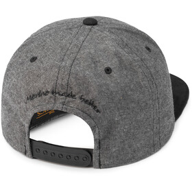super.natural Copinho Cap, quiet shade melange/jet black